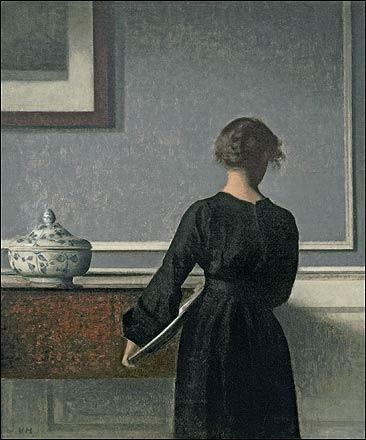 ヴィルヘルム・ハンマースホイ展 ※静寂な絵画空間