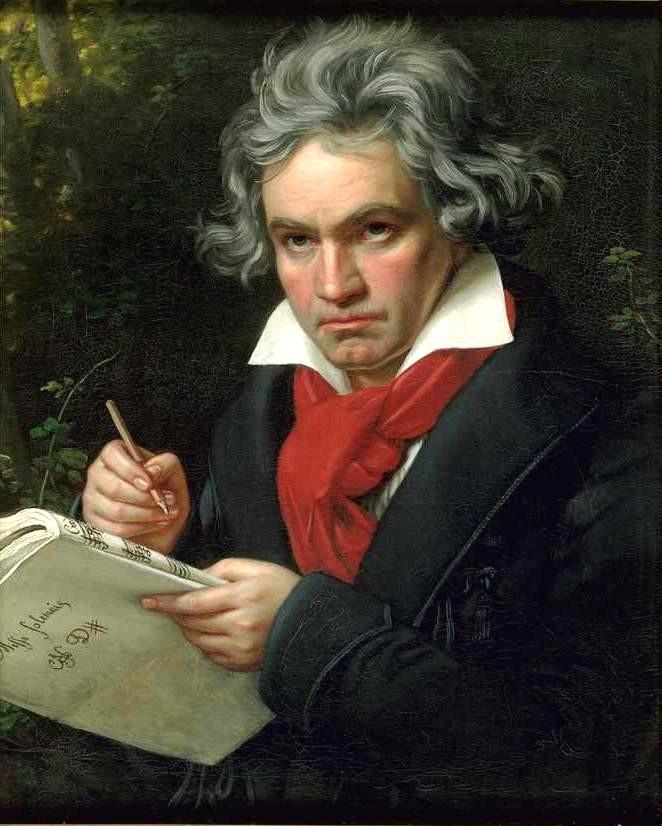 天才を間近に見る ※ベートーヴェンの場合※