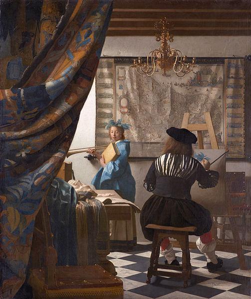 オランダ画家(フェルメール)に対する、ドイツ哲学者(ショーペンハウアー)の言葉