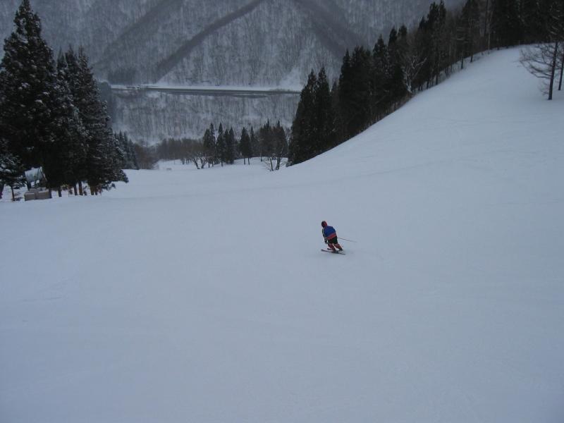 スキー行脚 ※苗場